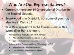 who are our representatives1