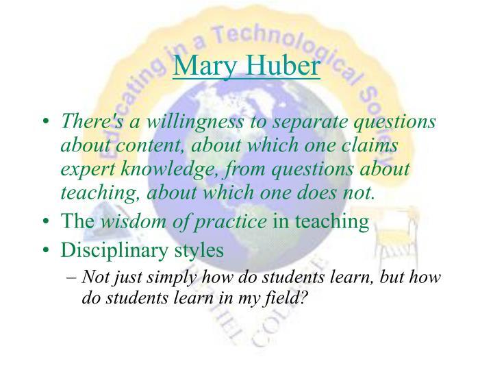 Mary Huber