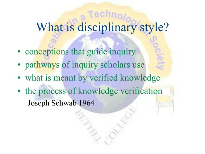 What is disciplinary style