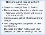 barnabas and saul at antioch acts 11 19 263