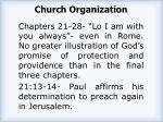 church organization1