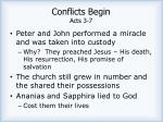 conflicts begin acts 3 7