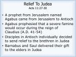 relief to judea acts 11 27 30