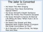 the jailer is converted acts 16 25 341