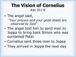 the vision of cornelius acts 10 1 81