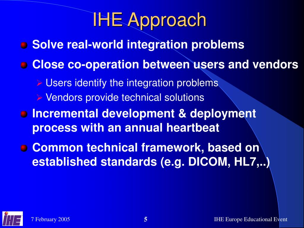 PPT - Integrating the Healthcare Enterprise PowerPoint