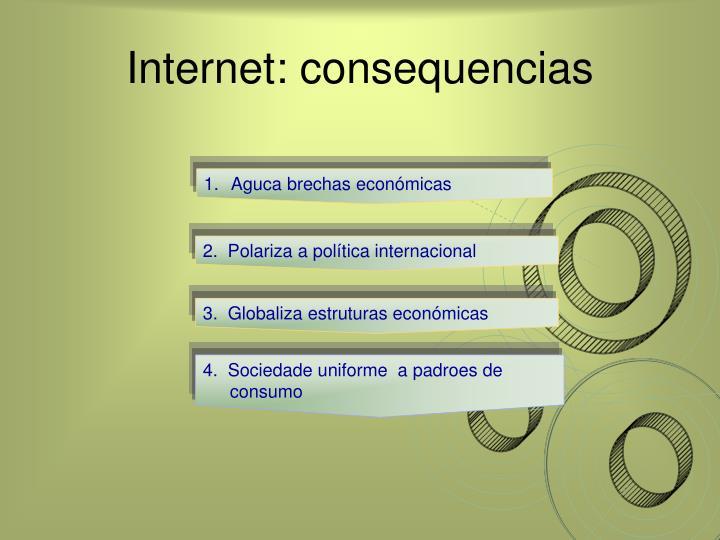 Internet: consequencias