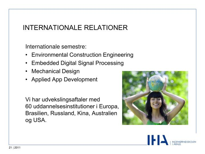 INTERNATIONALE RELATIONER