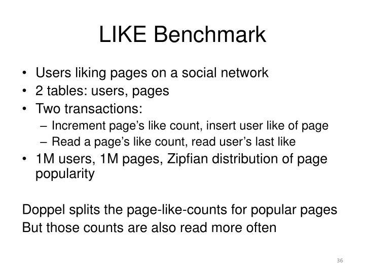 LIKE Benchmark