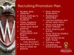 recruiting promotion plan
