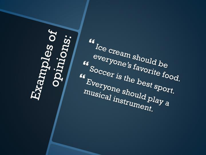 Ice cream should be everyone's favorite food.