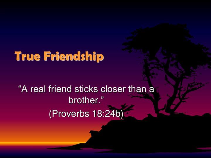 True friendship1