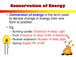 conservation of energy2