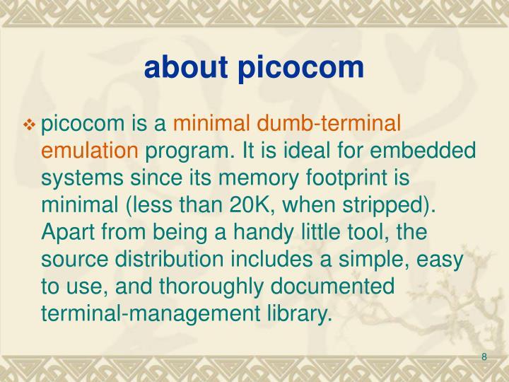 about picocom
