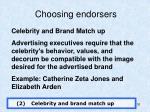 choosing endorsers1