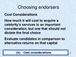 choosing endorsers4