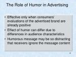 the role of humor in advertising1