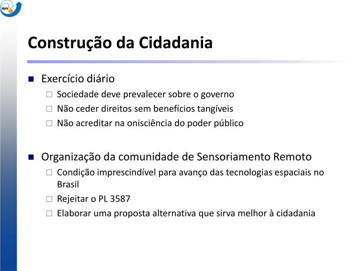 Construção da Cidadania