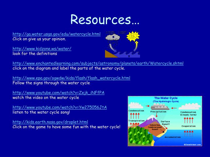 Ppt the water cycle powerpoint presentation id6211663 httpgawatergseduwatercycleml ccuart Gallery