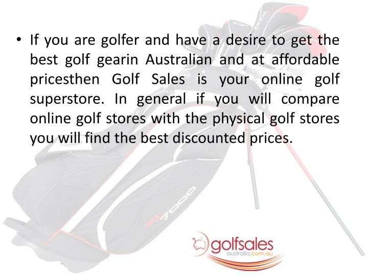 If you are golfer and have a desire to get the best golf