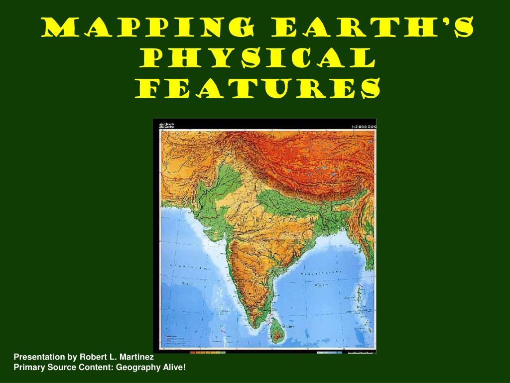 Image of: Ppt Mapping Earth S Physical Features Powerpoint Presentation Free Download Id 6211802