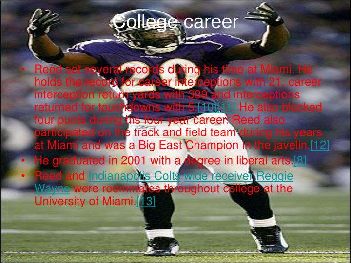 College career
