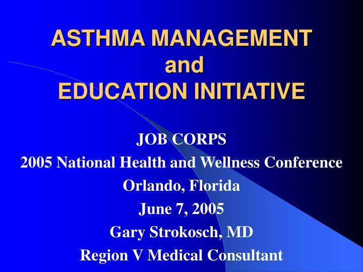 asthma management and education initiative n.