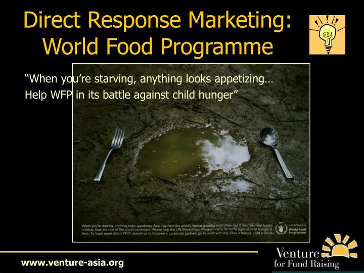 Direct Response Marketing: