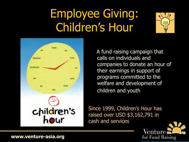 Employee Giving: