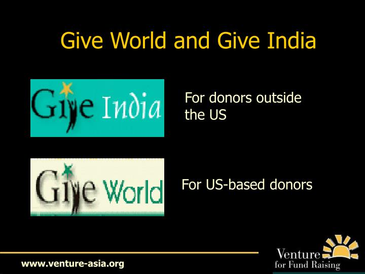Give World and Give India