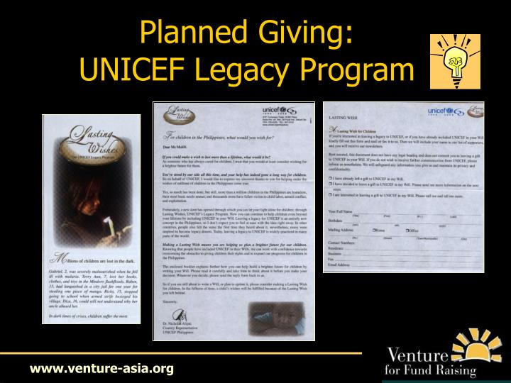 Planned Giving: