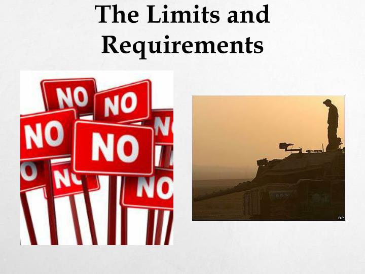 The Limits and