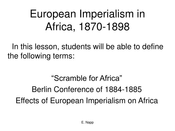 positive and negative impacts of imperialism