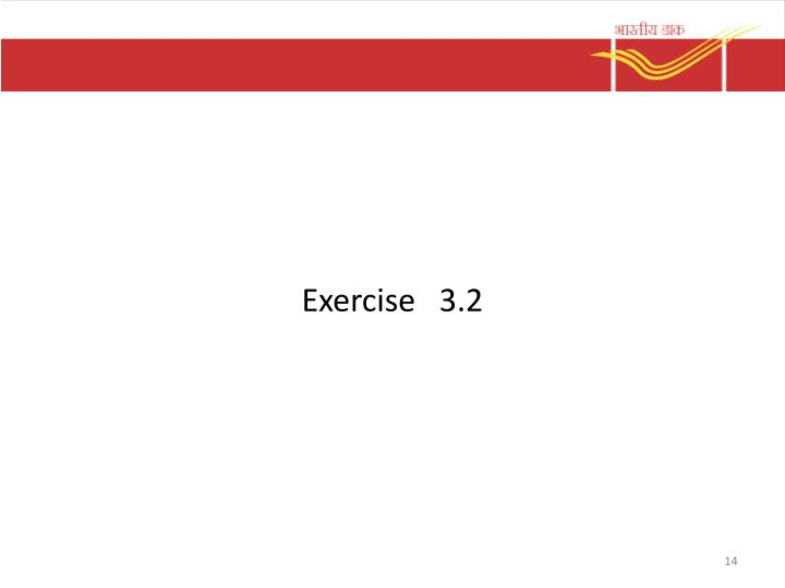 Exercise   3.2