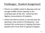 challenges student assignment1