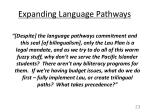 expanding language pathways5