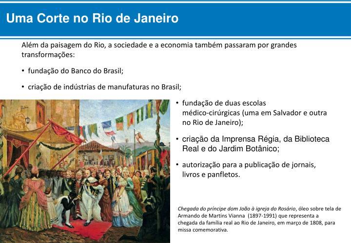 Uma Corte no Rio de Janeiro