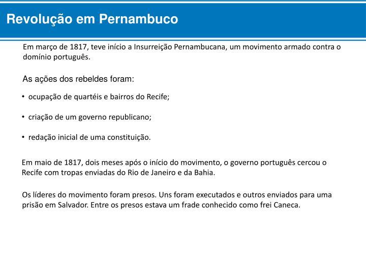 Revolução em Pernambuco