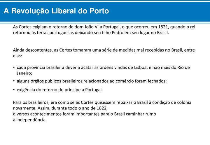 A Revolução Liberal do Porto