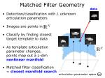 matched filter geometry1