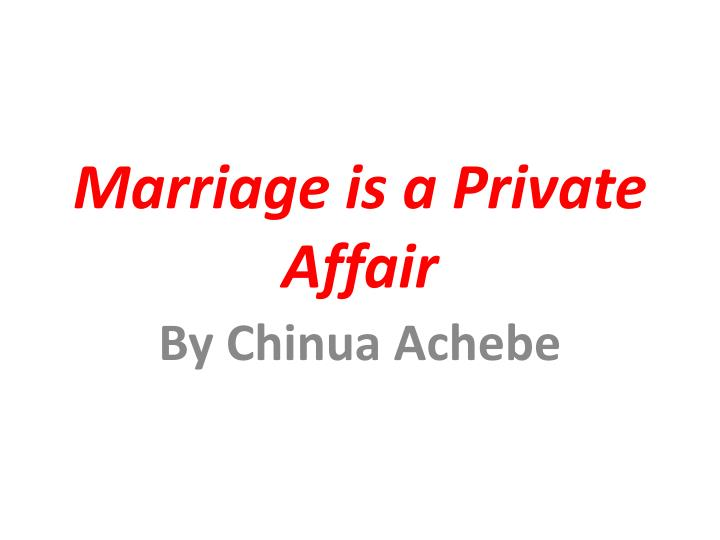 conclusion of marriage is a private affair Here are 14 ways to affair proof your marriage: make your marriage your #1 priority  conclusion making your marriage affair proof requires a large investment of time and emotional capital but the investment is well worth it set high standards for your marriage.