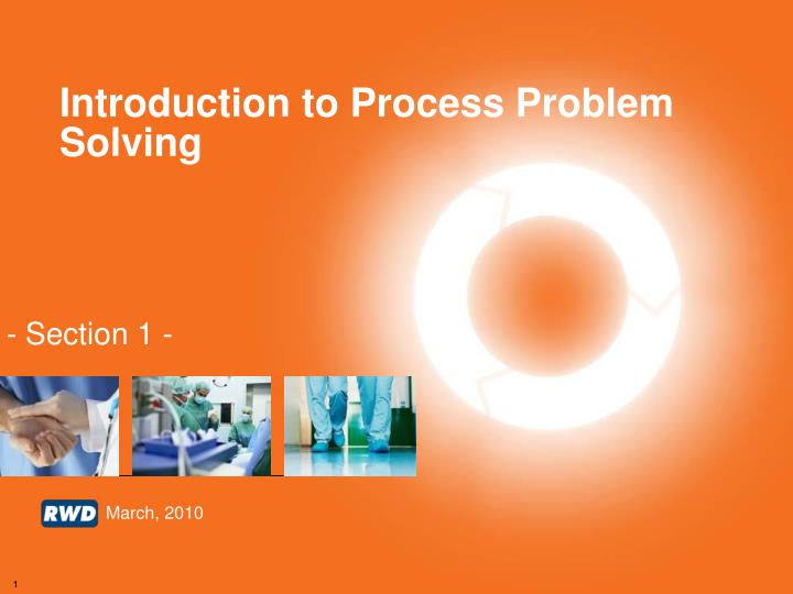 introduction to process problem solving n.