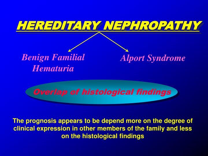 HEREDITARY NEPHROPATHY