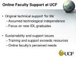 online faculty support at ucf