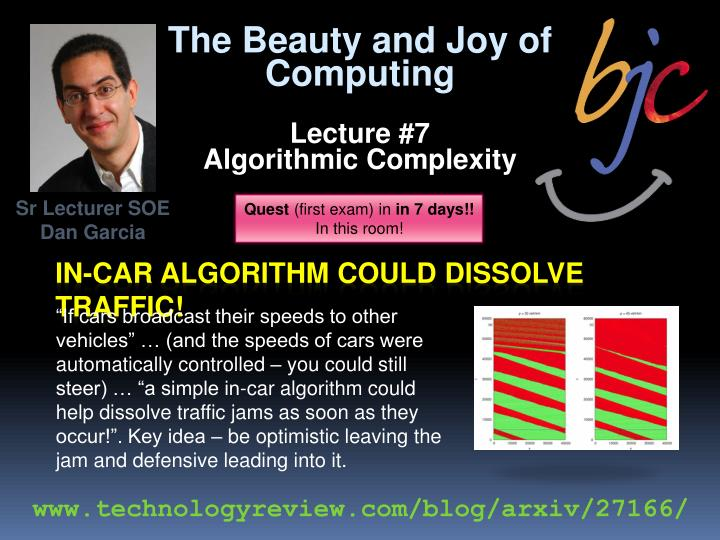 In car algorithm could dissolve traffic