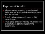 experiment results1