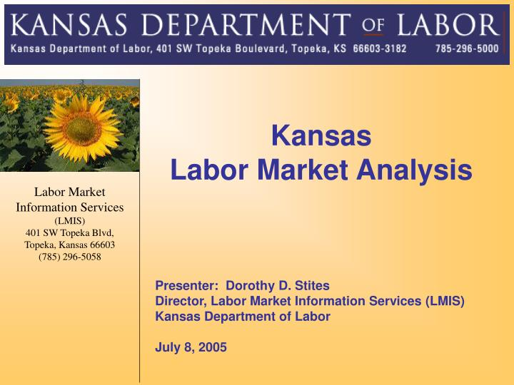 kansas labor market analysis