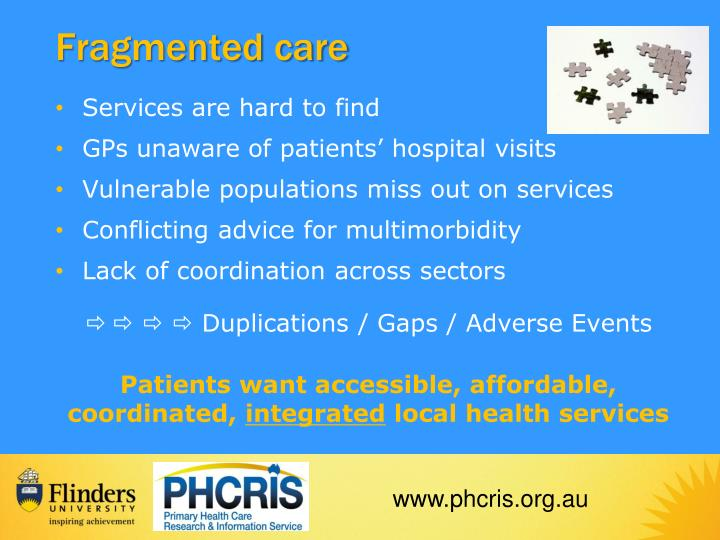 Fragmented care