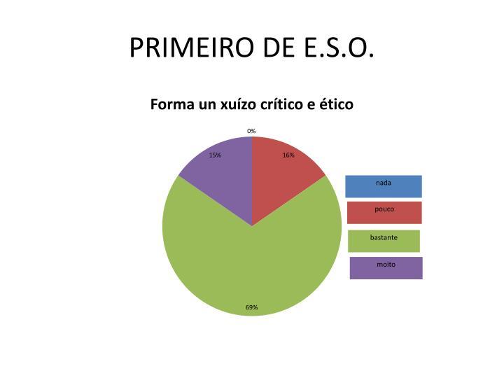 PRIMEIRO DE E.S.O.
