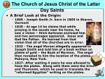 the church of jesus christ of the latter day saints1